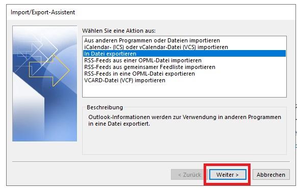Outlook sichern: So gehen keine Mails verloren