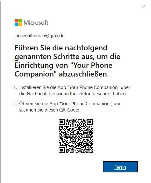 So verbinden Sie Ihr Smartphone mit Windows 10