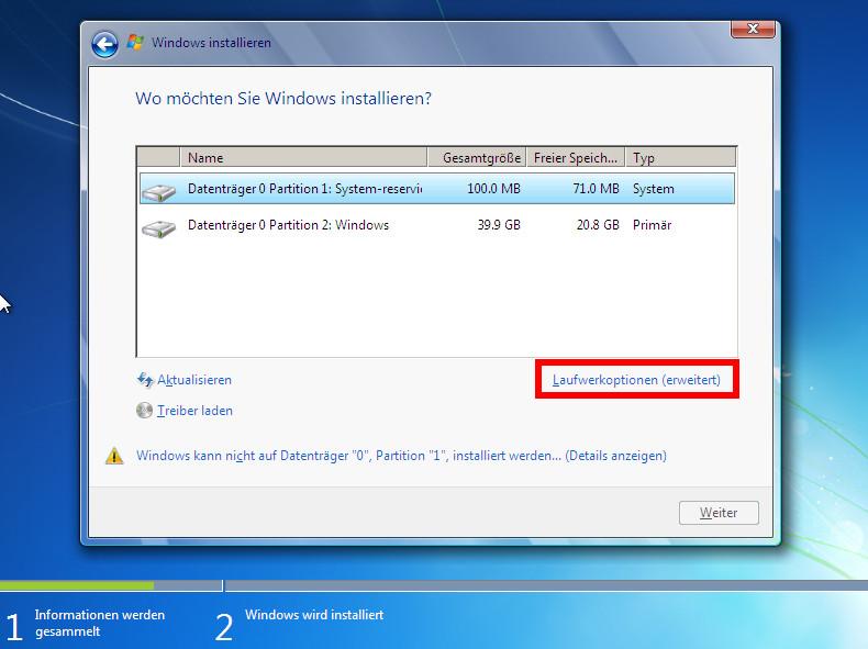 Windows 7 Installieren Anleitung