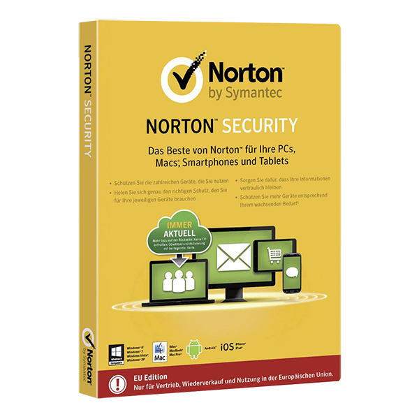 Symantec Norton Security Standard (1 Device - 1 Jahr)