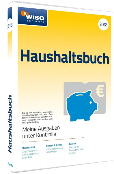 WISO Haushaltsbuch