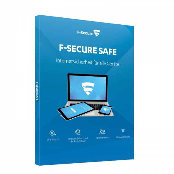 F-Secure Safe (1 Device -1 Jahr) Multi Device