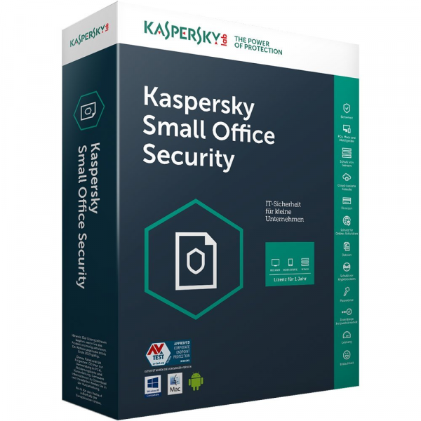 Kaspersky Small Office Security Vers. 5 (1 PC + 1 mobiles Gerät)