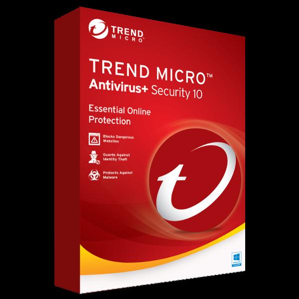 Trend Micro Antivirus+ Security (1 PC / 1 Jahr)
