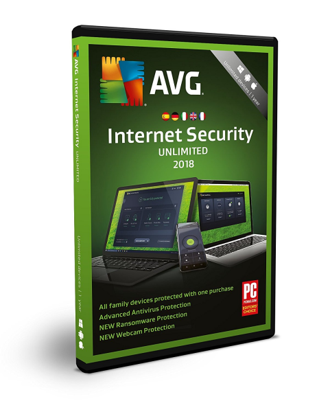 AVG Internet Security (1 PC - 1 Jahr)