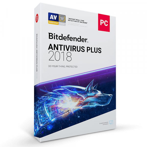 Bitdefender 2018 Antivirus Plus (1 Device 1 Jahr) OEM