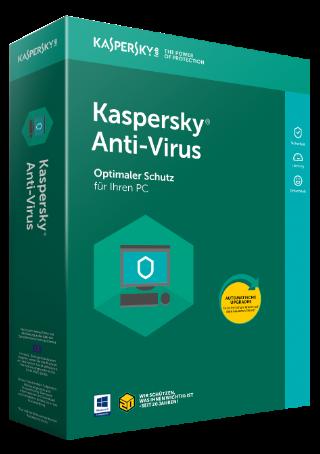 Kaspersky Antivirus (1 PC - 1 Jahr)